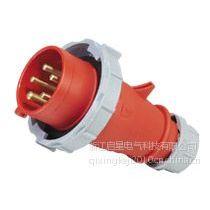 供应厂家直销启星QX288 5P/16A IP67工业插头