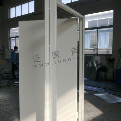 为重庆理工大型消声室提供隔声门工程 隔音门 隔声窗 隔音窗