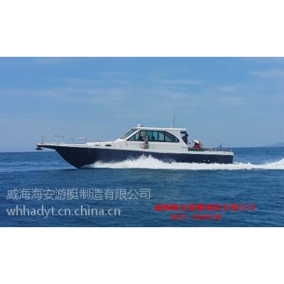 钓鱼船厂家接受13米钓鱼船订制