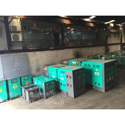 海口租发电机浙动公司常备300余台50KW-2000KW进口柴油发电机,提供出租维修、买卖康明斯机组