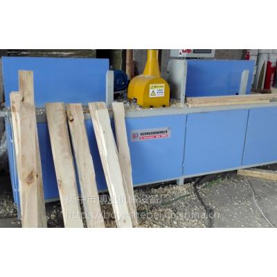 木托盘倒边机倒角机切角 自动生产线 扬中博业机械