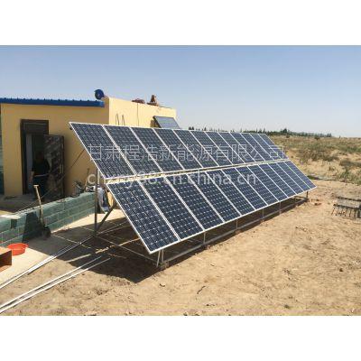 兰州程浩新能源供应:青海5kw离网太阳能光伏发电系统