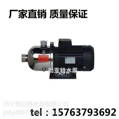 济宁勃亚特厂家直供节能轻型QDL不锈钢泵