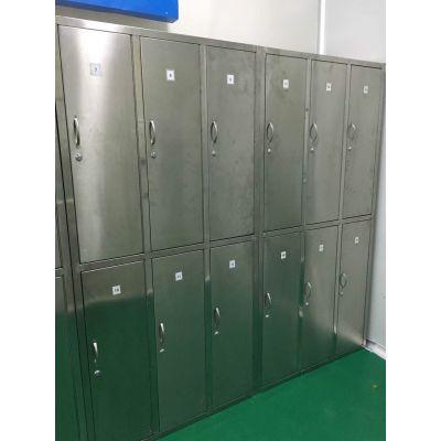  不锈钢更衣柜厂家供应304不锈钢衣柜