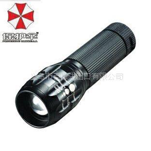 供应迷你小手电 Q5 LED强光手电筒 调焦充电手电 自行车前灯8252 套装