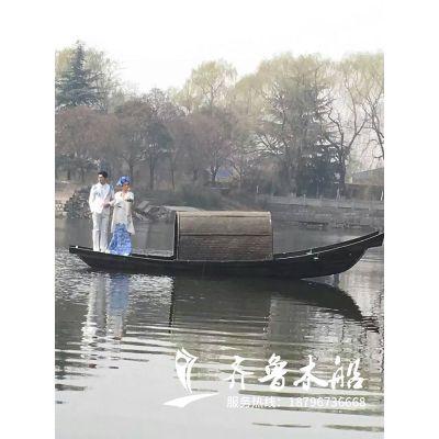 摄影用乌篷船生产厂家 装饰用乌篷船