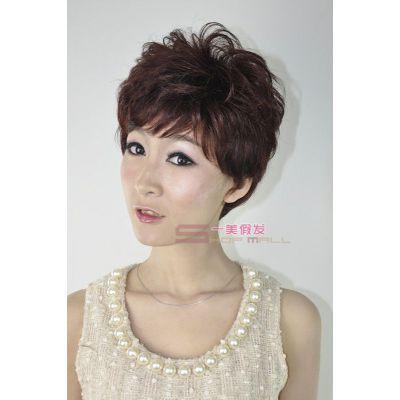 供应供应供应个性时尚女士假发全人发短发假发
