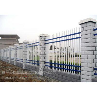 供应包头热镀锌钢管护栏 铁艺别墅阳台护栏 集宁锌钢围墙防护栏