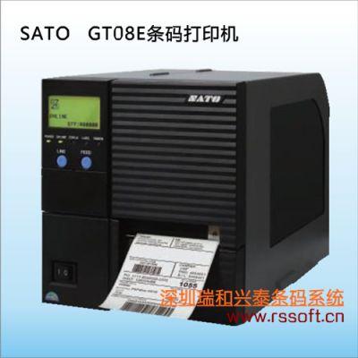 供应佐滕SATO|GT412E|热转印|300dpi|RS232C串口|条码标签打印机深圳直销