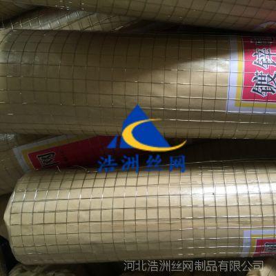 河北浩洲厂家直销 小丝抹墙防裂铁丝网 镀锌养殖电焊网 建筑用网