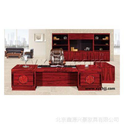 定制办公家具老板桌椅大班台 经理桌实木总裁桌 时尚办公组合现货