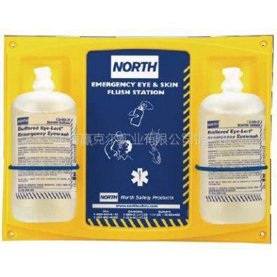 供应 美国NORTH 洗眼液 眼睛和皮肤清洗液 填充液16OZ双瓶带挂板