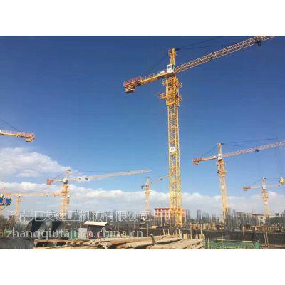 湘潭QT63塔吊价格臂长50米QTZ5011汇友塔机与中联塔机通用