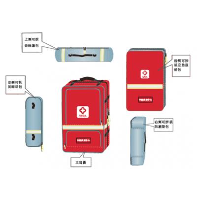 供应卫生应急队伍装备 个人携行装备个人携行背囊