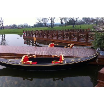 5米威尼斯贡多拉船生产厂家 款式可以定制
