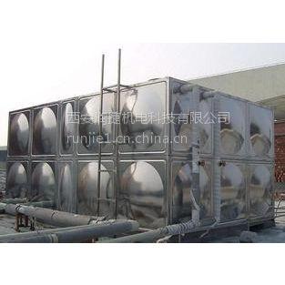 武功水箱加工 RV-88武功组合式不锈钢水箱厂家 润捷水箱