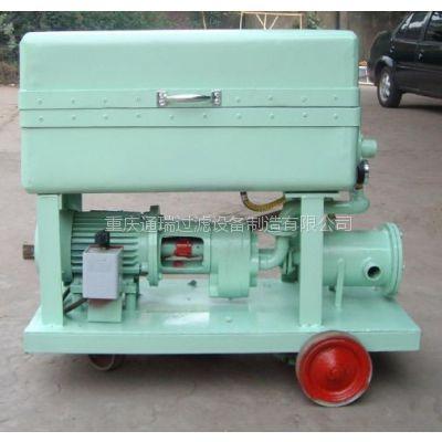 大面积杂质润滑油板框滤油机