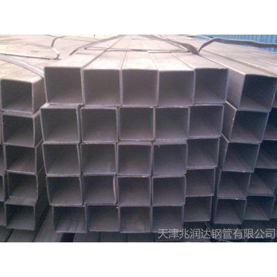 供应天津钢材市场 国标镀锌方管批发 薄壁方管批发