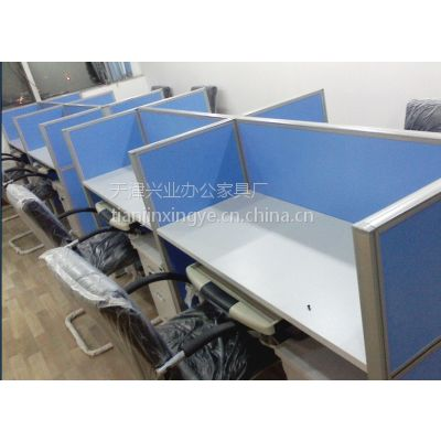 供应天津兴业办公家具厂定做暑期一对一培训桌,条桌、折叠桌系列