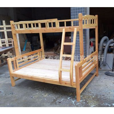 厂家直销儿童子母床松木学生双层床木质高低子母双层床实木床新款