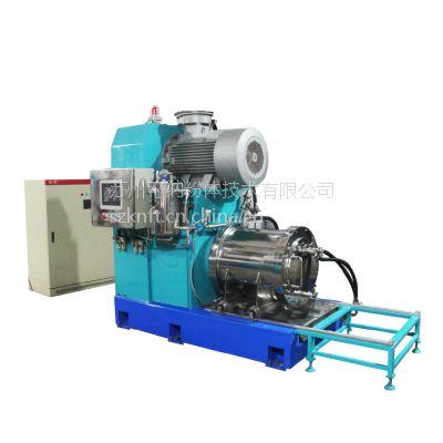 供应青海氧化铝纳米砂磨机厂家卧式纳米陶瓷砂磨机批发生产厂家