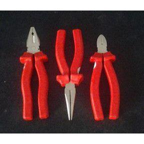 供应生产1000v绝缘钳子3件组合绝缘工具