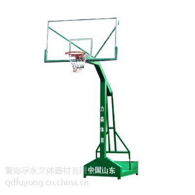 青岛移动式篮球架多少钱?青岛篮球架哪种好?厂价销售质保两年