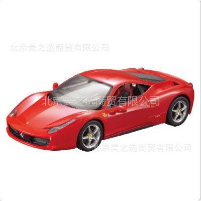 供应rastar 星辉车模 1:14法拉利458 Italia 遥控汽车模型 47300