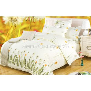 供应全棉四件套 床单 被罩 枕套 斜纹棉 精梳棉