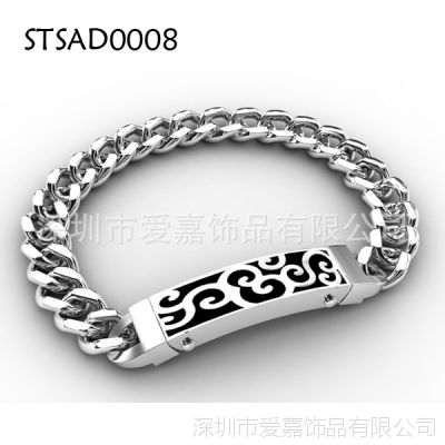 手链加工生产定制 定做金属手链不锈钢琉璃制品生产设计定做工厂