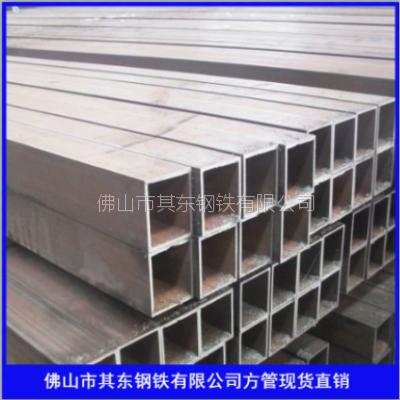 供应一般结构用方形钢管 佛山Q235B方管 乐从Q235B方管 佛山其东钢铁方管