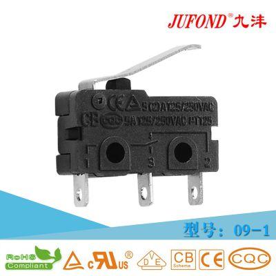 九沣JUFOND转换型三脚光波炉微动开关生产厂家 09-1