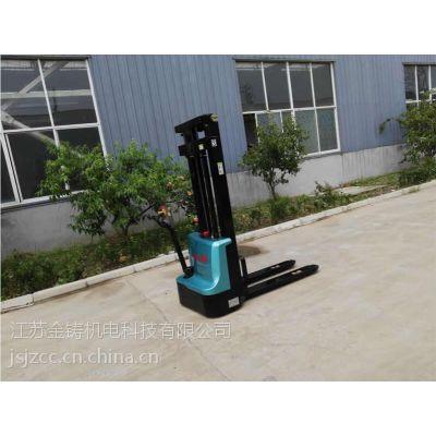 厂家直销 1.0吨电动堆垛车 可升高3m可定制 装卸货电动叉车