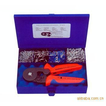 长沙市森茂五金供应凯尼派克(KNIPEX)压线钳组套工具979007