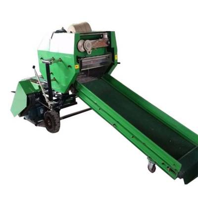 易操作打捆包膜机 牧草保存打捆包膜机 润丰