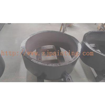 浙江宁波喷漆厂、风电零件喷砂、注塑机喷漆、金属喷锌加工