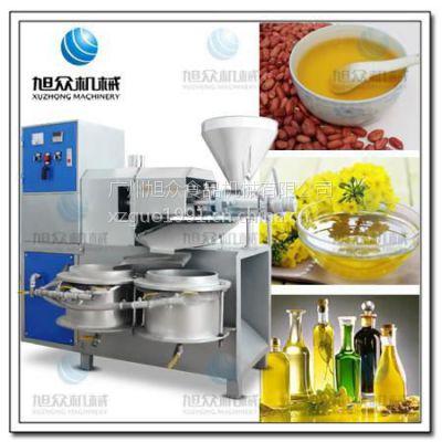 旭众XZ-100型榨油机 新品芝麻油机售价 大型花生油生产线