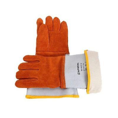 霍尼韦尔2012847进口皮革焊接隔热手套耐高温电焊手套防滑耐磨损手套