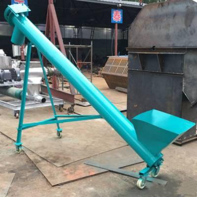 九江县饲料提升机报价 倾斜管式碳钢提升机a88