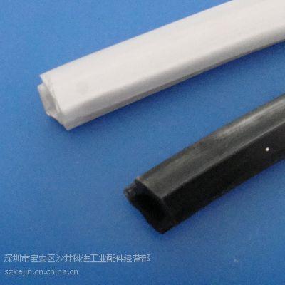 供应封边软胶条、铝型材槽封条、PVC 装饰盖条、铝型材配年