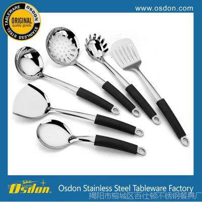 揭阳不锈钢烹饪勺铲 不锈钢厨具 家具用品 锅铲/汤勺批发