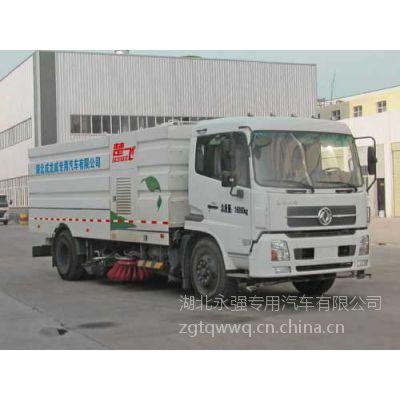 环卫车厂家供应道路清扫车东风天锦洗扫车多少钱