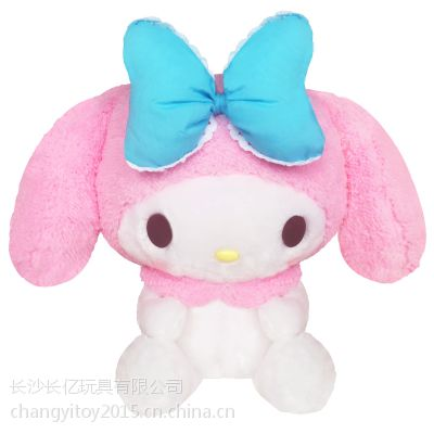 HelloKitty正版凯蒂猫毛绒公仔超萌Melody美乐蒂可爱玩偶娃娃礼品
