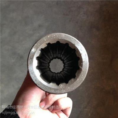 钢管、内四方精密钢管(图)、16Mn外圆内梅花钢管