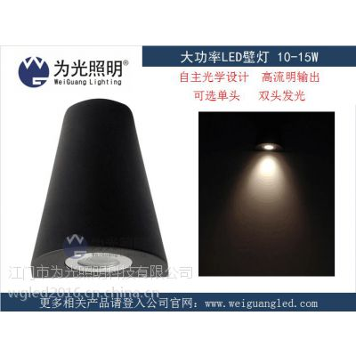 10W 可选单双头私模LED壁灯