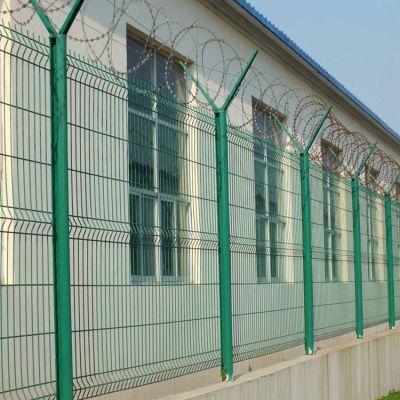 Y型护栏网 监狱围栏 机场围网护栏网 防攀爬