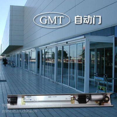 东莞GMT自动门安装,塘夏自动感应平移门/玻璃门体,彩钢板门体安装