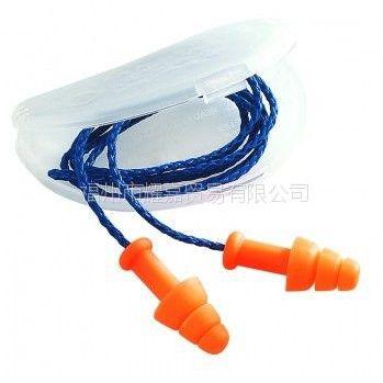 供应批发霍尼韦尔SmartFit可重复使用带线耳塞(附小盒)听力防护系列