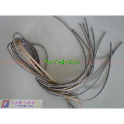 供应供应减震设备带胶弹力海绵条、海绵胶条