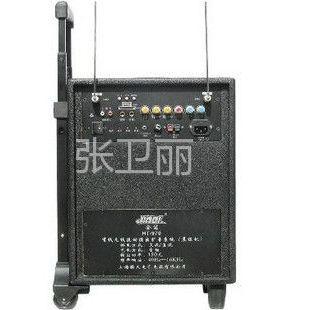 供应无线拉杆式音箱\带电瓶U盘SD卡\带两个无线话筒